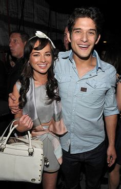 Ashley Rickards and tyler posey