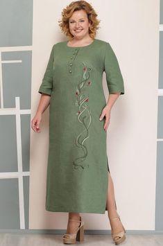Daily Fashion – Daily fashion all trends dresses shoes pants jeans Linen Dresses, Modest Dresses, Plus Size Dresses, Casual Dresses, Curvy Girl Fashion, Plus Size Fashion, Womens Fashion, Abaya Fashion, Fashion Dresses
