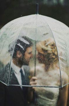 Inspiración bodas con lluvia