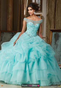 Vizcaya Quinceanera Organza Ball Gown 89110