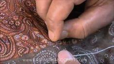 Kashmir Sozni Embroidery - YouTube