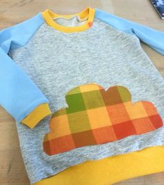 Boy sweatshirt with cloud