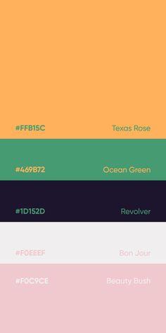 Flat Color Palette, Colour Pallete, Colour Schemes, Color Palettes, Color Codes, Beautiful Color Combinations, Color Psychology, Colour Board, World Of Color
