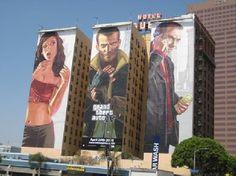 Shangrala's Building Advertising Art