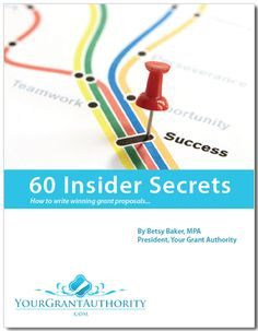 60 Insider Secrets for Winning Nonprofit Grants