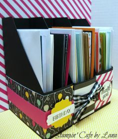 Stampin' Cafe by Lana: Magazine Style Card Holder
