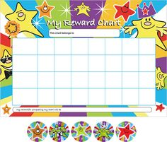 Sticker Reward Chart Template  Charts For Future