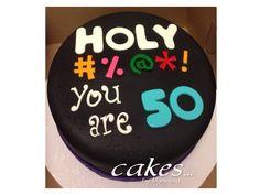 50 Birthday Cake @Cakes_Vanessa
