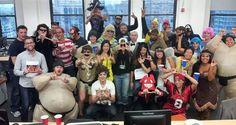 Boo Celebrating 'Halloween' at Work