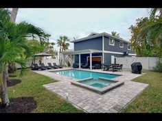 """""""Sea La Vie"""" Vacation rental home in Anna Maria Florida at BeachRentals. Anna Maria Rentals, Microwave In Kitchen, Pool Steps, Anna Marias, Heated Pool, Patio Dining, Exterior Lighting, Rental Property, Private Pool"""