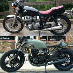 Before and after cb650