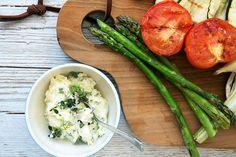 Grønt på grill – med den bedste fetadip