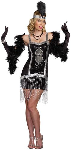 b20d85bad1 Fascinating Women s Sexy Flapper Women s Costume. Ultimate collection of  1920 s  amp  1930 s Costumes for