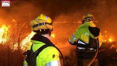 Los Bomberos controlan el incendio forestal que ha afectado al Prat de Cabanes-Torreblanca