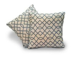 Innovex Bella Pillows, Swirl, Set of 4 - just ordered with a matching chair for living room