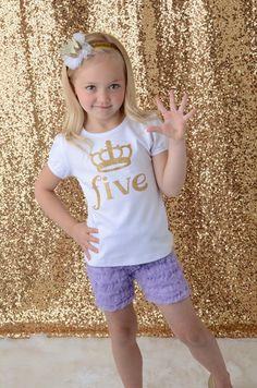 Birthday Number Crown Shirt