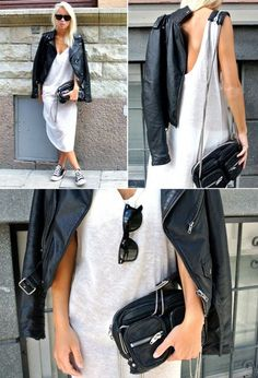 Чёрно-белая одежда – стильные сочетания для каждого дня - Я Покупаю