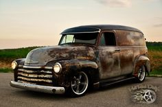 Meat Plow - Chevy Panel Truck - Hot Rod Dirty's Photography