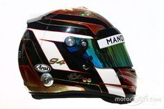 The helmet of Pascal Wehrlein, Manor Racing