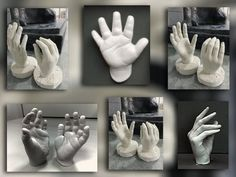 How to Make a Mold of Your Hand and know from where to buy the Alginate. Similarly make other body casts.The final Sculpt it's self turned out alright. A few...