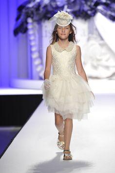 Pitti Bimbo 79 - Julia Mayer for  Miss Grant Fashion Show . Julia Mayer   Photo by : Giovanni Giannoni.  B-Talent agency.