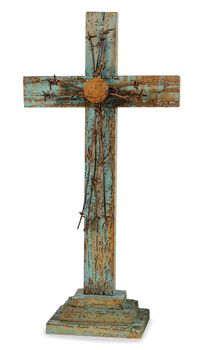 Old Barn Wood Cross