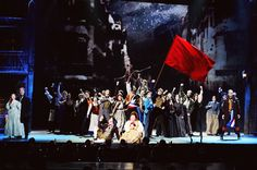 Cast of Les Misérables perform One Day More at the 68th Annual Tony Awards