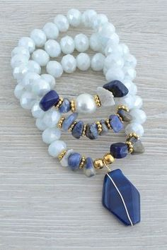 Treasure Jewelry l Bohochic Hand Made Jewelry Inspired By Nature Bead Jewellery, Stone Jewelry, Boho Jewelry, Jewelry Crafts, Beaded Jewelry, Jewelry Accessories, Fashion Jewelry, Jewelry Design, Jewelry Ideas