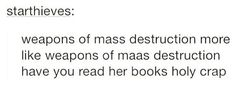 I love them but I feel like she's dragging the throne of glass series out I mean the 6#