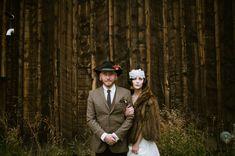 Vintage inspired bride and groom. Whimsical wedding. wood backdrop. Bread Bar, a&be,  Lale Florals, Laurel & Rose www.laurelandrose.com