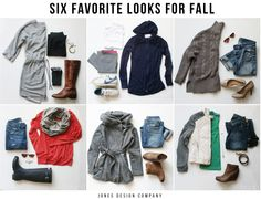 six favorite looks for fall