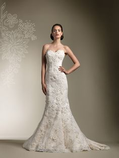 All Lace Wedding Gown