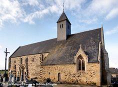 Église St-Gobrien, à Morieux. Saint Jean Baptiste, Saint Martin, Chapelle, Barcelona Cathedral, Notre Dame, Building, Travel, Places To Visit, Catholic