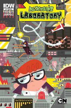 Dexter's Neglected Lab, Andrew Kolb