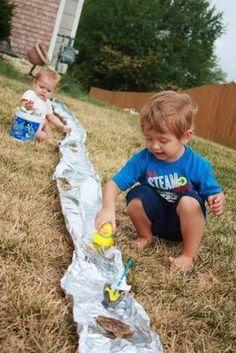 Foil River . . . And 24 Other Water Games and Activities for Kids