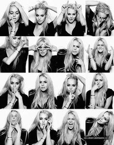 suicide blonde Lindsay Lohan
