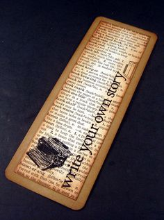 Handmade Bookmarks | Flickr - Photo Sharing!