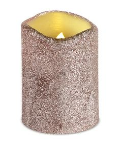 """4""""t x 3""""d Cast a warm glow during holiday gatherings with this pretty electric light. Made from wax and plastic, it has the look of a real candle without the inconvenience of smoke or mess of wax."""