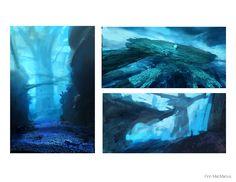 ArtStation - Blue Valley, Finnian Macmanus