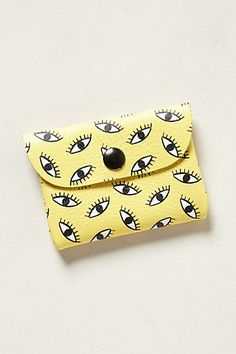 Bright - Eyed Card Holder by Falconwright.