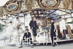 VIXX - The STar Magazine July Issue '15 Star Magazine, Jellyfish Entertainment, Photoshoot, Stars, Leo, Third Anniversary, Vixx Ken, Jung Taekwoon, Band Photography