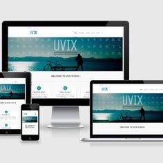 Web Design   Uvix My Portfolio, Web Design, Phone, Design Web, Telephone, Website Designs, Mobile Phones, Site Design
