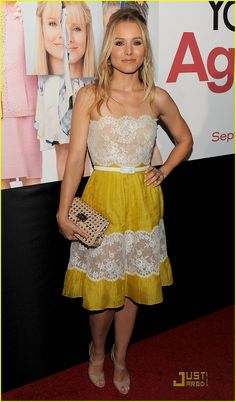 Kristen Bell, adorable dress, terrible movie