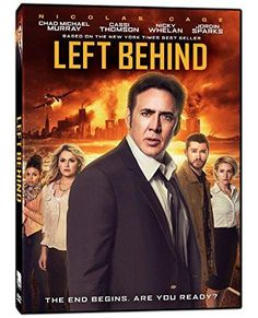 Nicolas Cage & Chad Michael Murray & Vic Armstrong-Left Behind