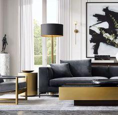 Contemporary Interior Design, Modern Interior, Modern Decor, Classic Interior, Modern Luxury, Modern Wall, Luxury Home Decor, Luxury Homes, Living Room Furniture