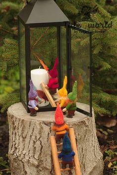 GNOME Puppe, Puppe, Weihnachten Gnome, Waldorf Gnome, OOAK Puppe Gnome, Gnome-Kunst-Puppe, Märchen Kreatur, Gartenzwerg Wache Schätze Bild, Design und Constraction dieser Puppe von mir gemacht. Die Gnome-Puppe verwendet werden, in vielen verschiedenen Spielen und Puppenspiel zeigt. Mit