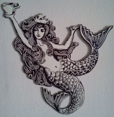 zbrush models starbucks mermaid - Google Search