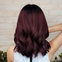 44 Fascinating Fall Hair Colors Ideas For Women ., 44 Fascinating Fall Hair Colors Ideas for Women hair color # . - 44 Fascinating Fall Hair Colors Ideas for Women hair color If you feel that brunettes usually are happier. Red Hair Color, Hair Color Balayage, Ombre Hair, Dark Auburn Hair Color, Dark Fall Hair Colors, Haircolor, Cherry Cola Hair Color, Pelo Color Vino, Wine Hair