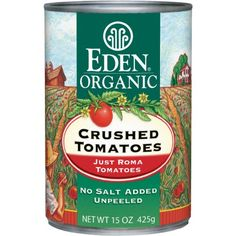 Eden Foods Organic Crushed Tomatoes -- 15 oz - http://goodvibeorganics.com/eden-foods-organic-crushed-tomatoes-15-oz/