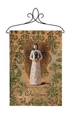 Willow Tree Welcoming Angel Tapestry Bannerette